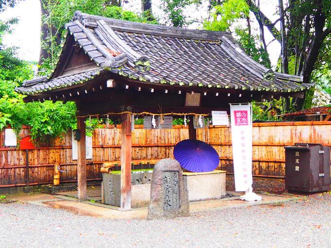 日本名水100選 「離宮の水」