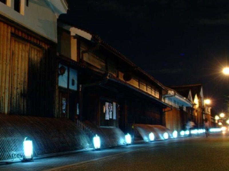 伏見酒蔵通り灯ろうライトアップ