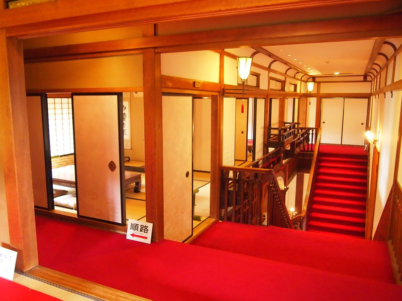 「御成の間」をはじめとする和室の公開!京都の洋館・長楽館