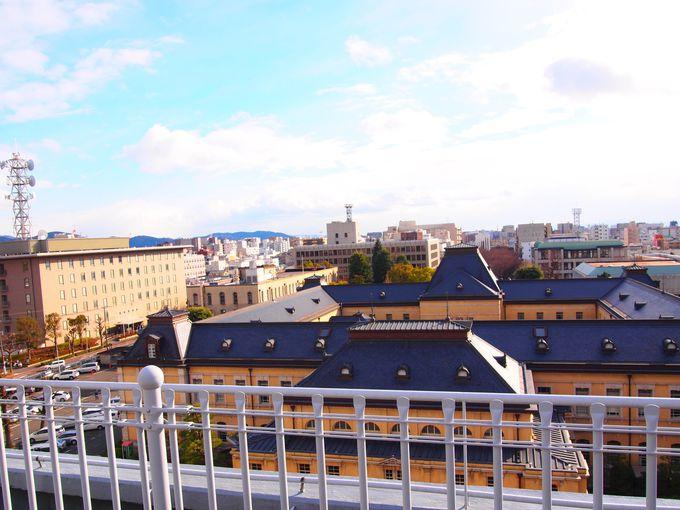 2号館屋上「京てらす」からの眺め