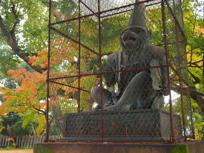 愛嬌溢れる神猿