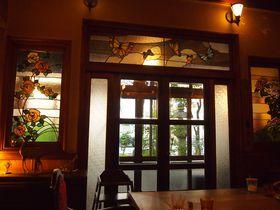 美しい店内にうっとり!京都・島原「きんせ旅館」カフェ&バー