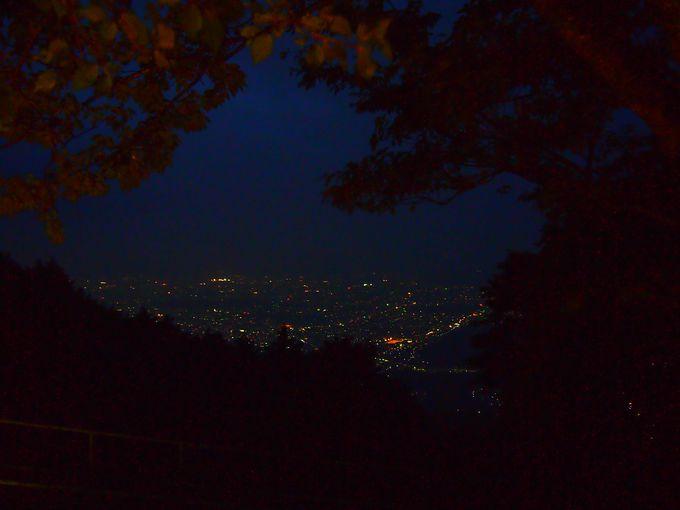 夜景も楽しめる!