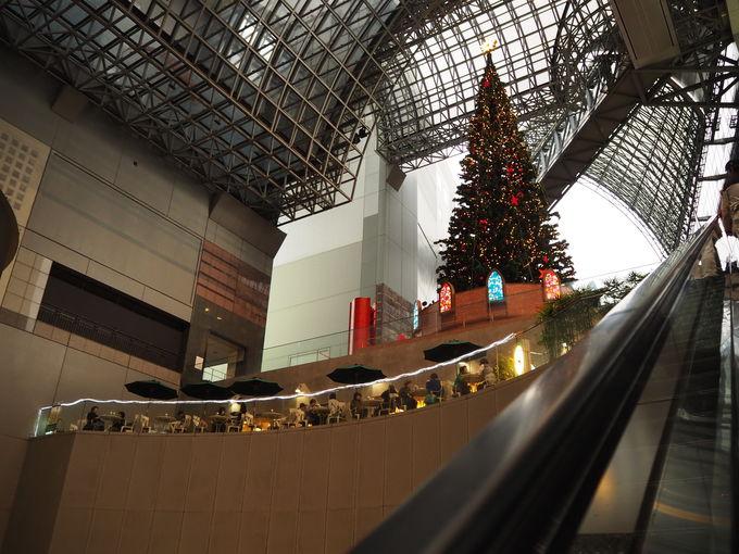 京都駅のクリスマス!