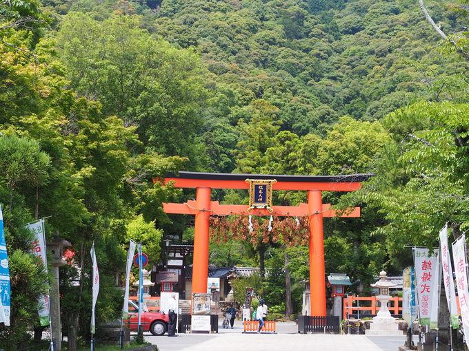 京都・洛西地方の総氏神