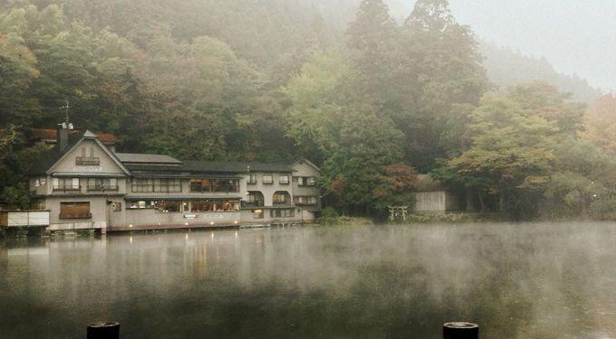 早起きは三文の徳!?神秘的な金鱗湖の朝霧を堪能