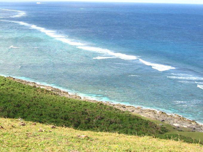 与那国島は断崖絶壁に囲まれた美しい島