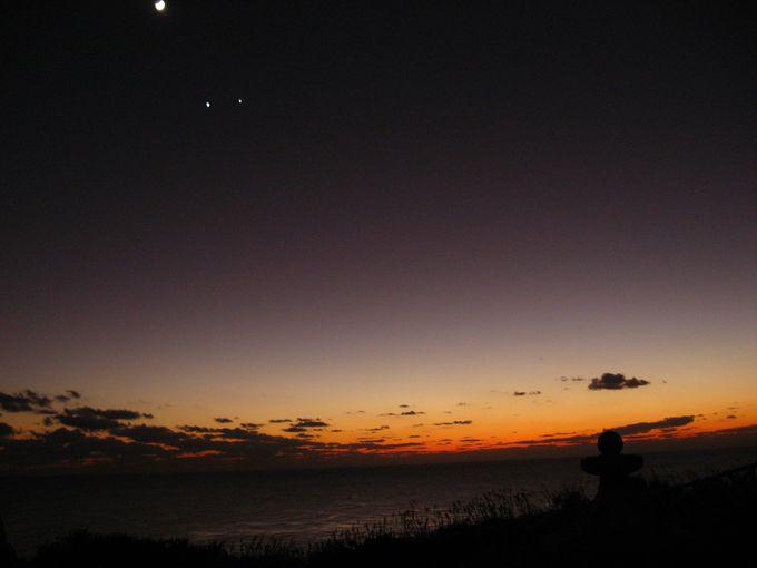 与那国島の夜は星空に感動!そして夕暮れの美しさは世界一だ