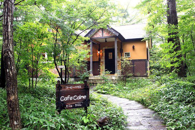 乙女の滝の直ぐ上あるCafe Calme(カルム)で至福の時を
