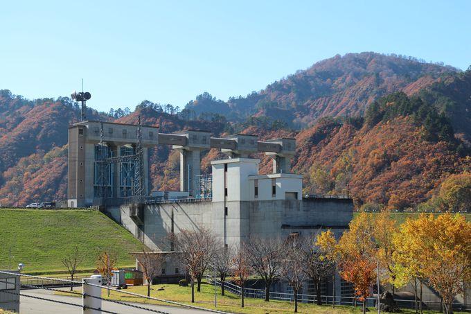 只見町は自然とダムが調和している水が豊かな町だった
