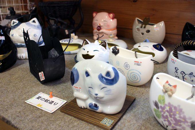 オーナーのオススメ商品は陶器製のネコのアレだ!