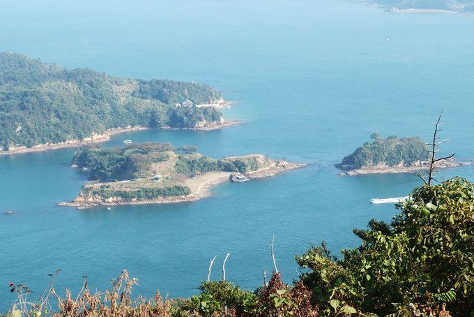 能島村上水軍に思いを馳せて…能島と船折瀬戸の急流が目の前に!