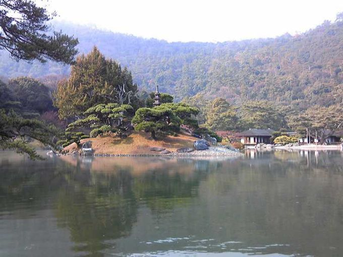 南湖からの絶景