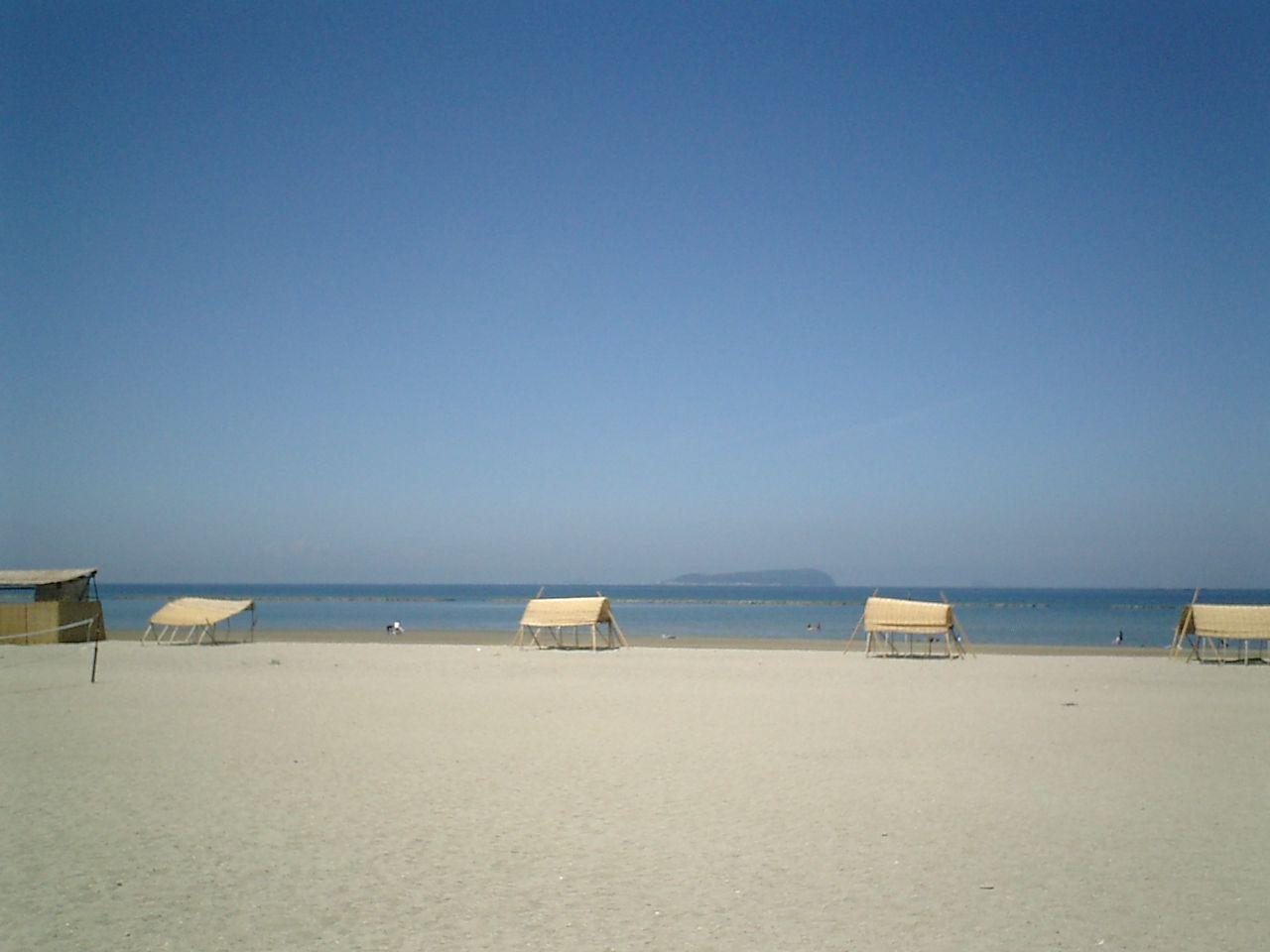 有明浜(ありあけはま)白砂の輝き