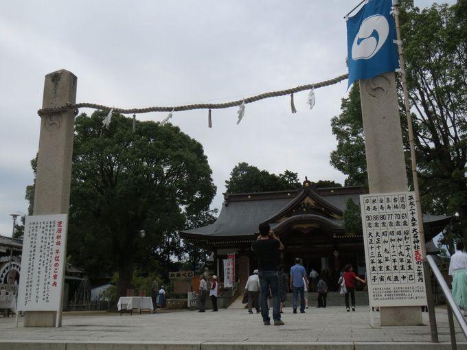 大石神社に祀られているのは
