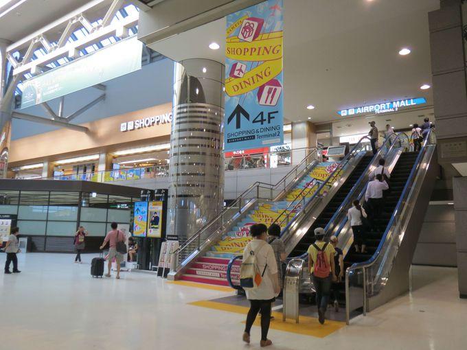 成田空港で一番わかりやすいフロア