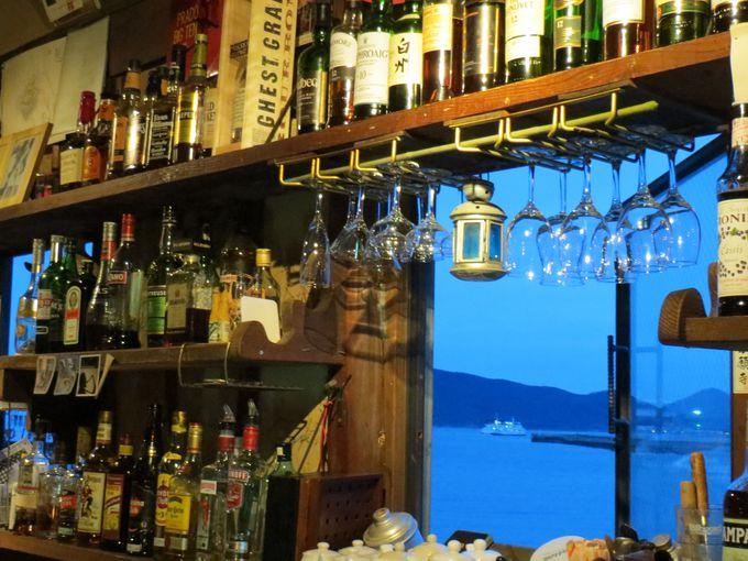 瀬戸内海を一望「黒船屋」