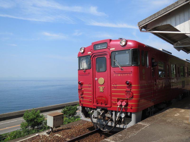 観光列車「伊予灘ものがたり」で行く海とグルメとふれあいの旅!