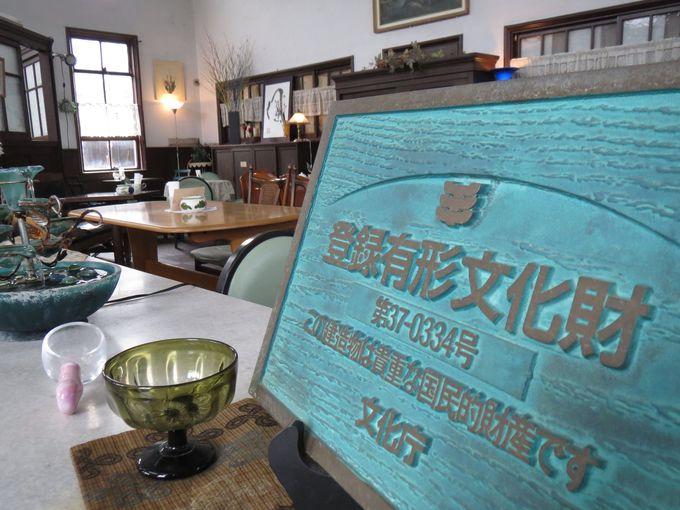 カフェ・ヌーベルポスト(旧・引田郵便局)は登録有形文化財
