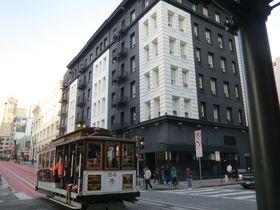 窓からケーブルカー!サンフランシスコ「ホテルユニオンスクエア」