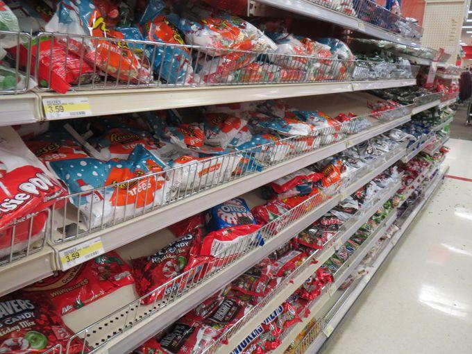 スーパーに行ったらチョコ売り場を目指せ