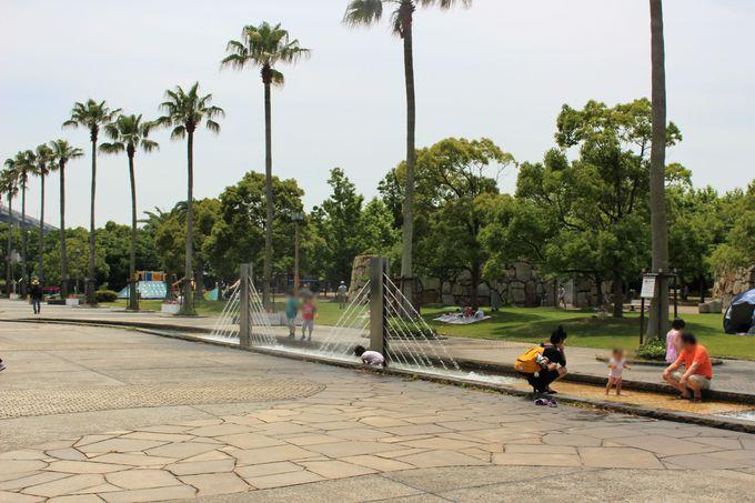 その4 「マリンドーム」越しの瀬戸大橋に癒される