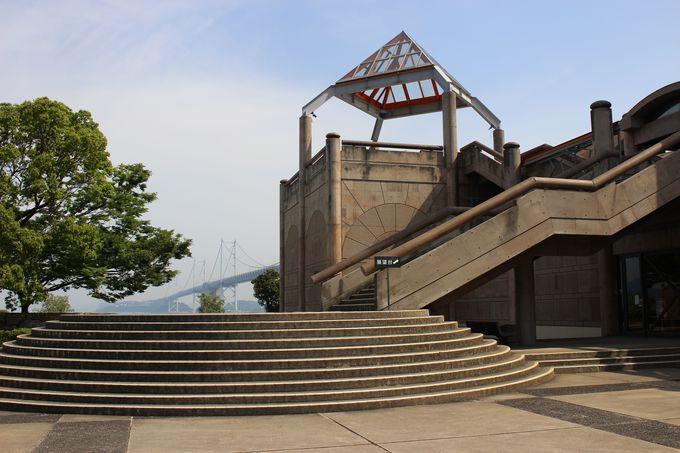 その2 「瀬戸大橋記念館」の展望台からは瀬戸大橋がとっても近い!
