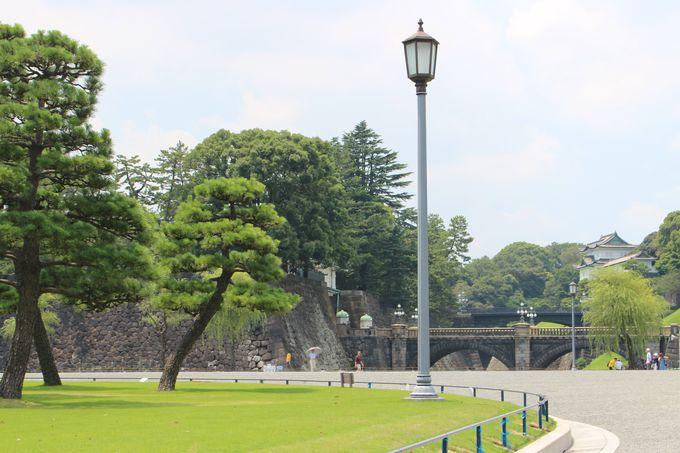 皇居外苑で頂く「江戸エコ行楽重」