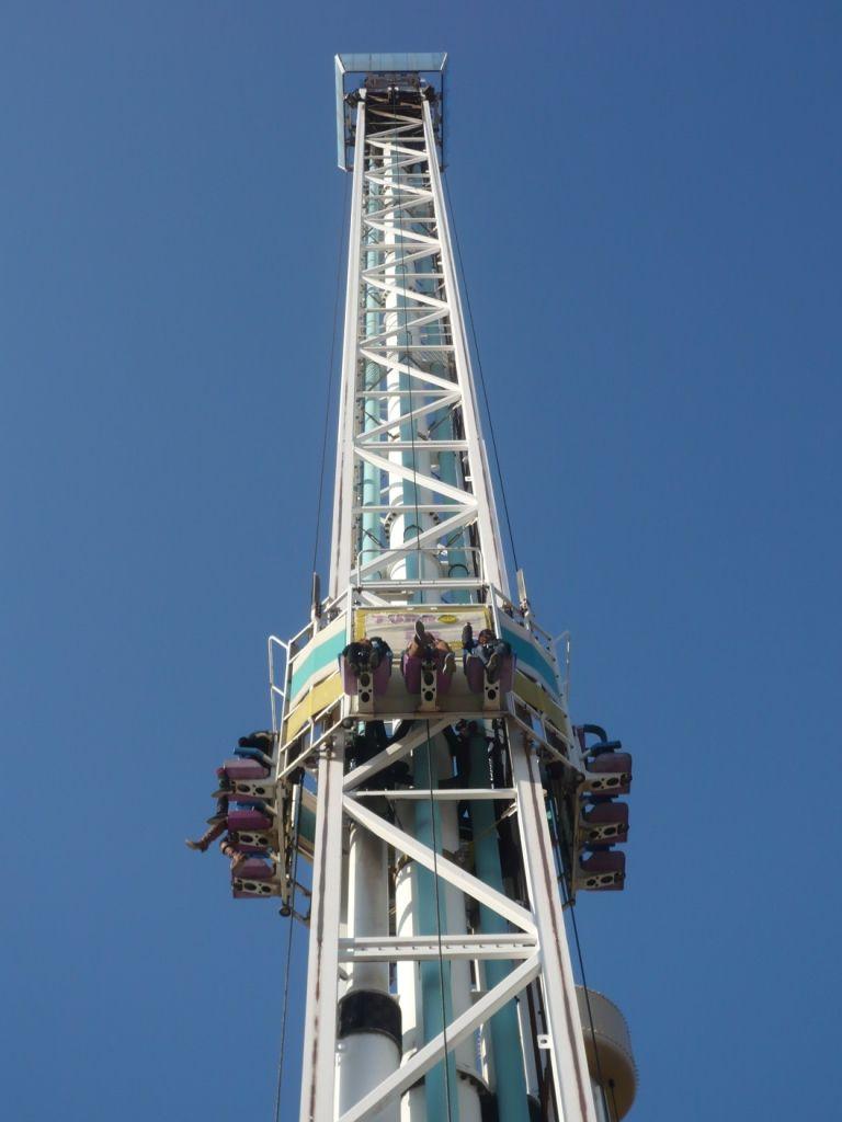 海抜200メートルから急降下「ターボドロップ」
