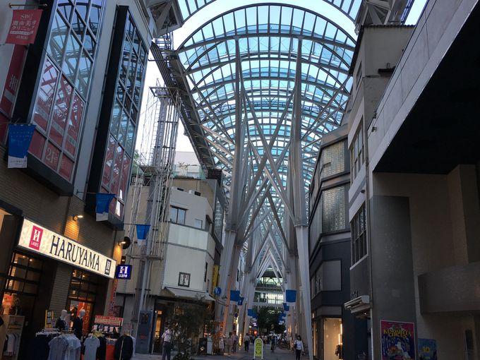 全国から視察に来るアーケード街「高松丸亀町商店街」
