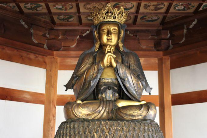 パワースポット「関善光寺」五郎丸ポーズの仏様と卍戒壇巡り