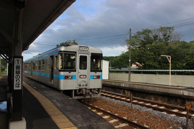 JR塩入駅から早朝スタートのススメ