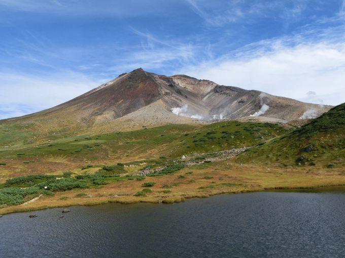 まず旭岳ロープウェイで「姿見の池」へ