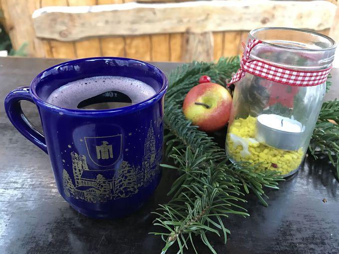 クリスマスマーケットには欠かせない!温かく甘いグリューワイン