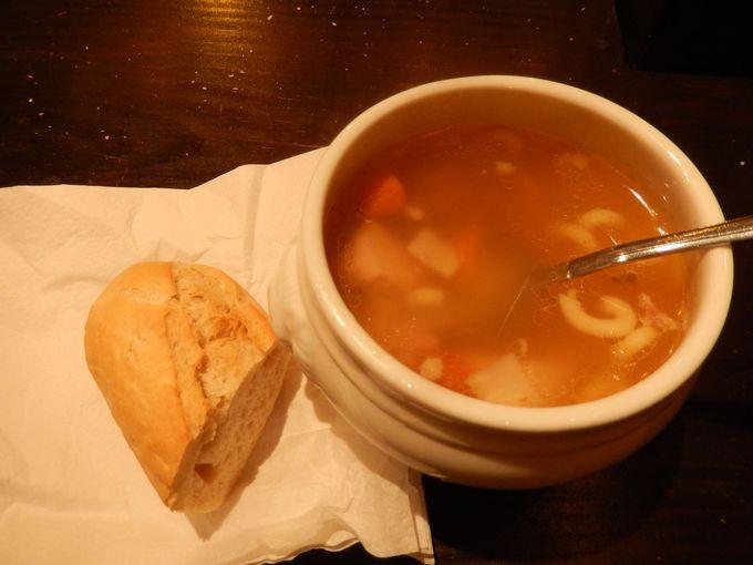 身体を温める美味しい伝統的なスープ!