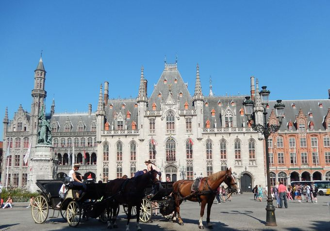 これぞ絵本の世界!どこまでも美しい中世の町「ブルージュ」(ベルギー)