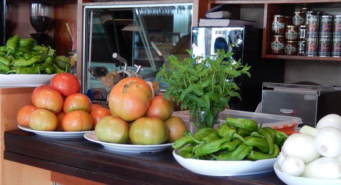 新鮮野菜も豊富なスペイン