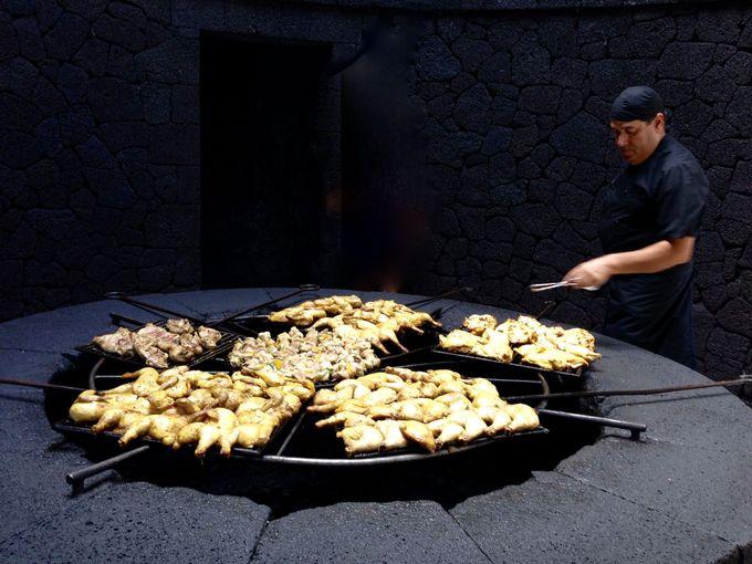 ちょっと食べたい美味しそうな火山バーベキュー!