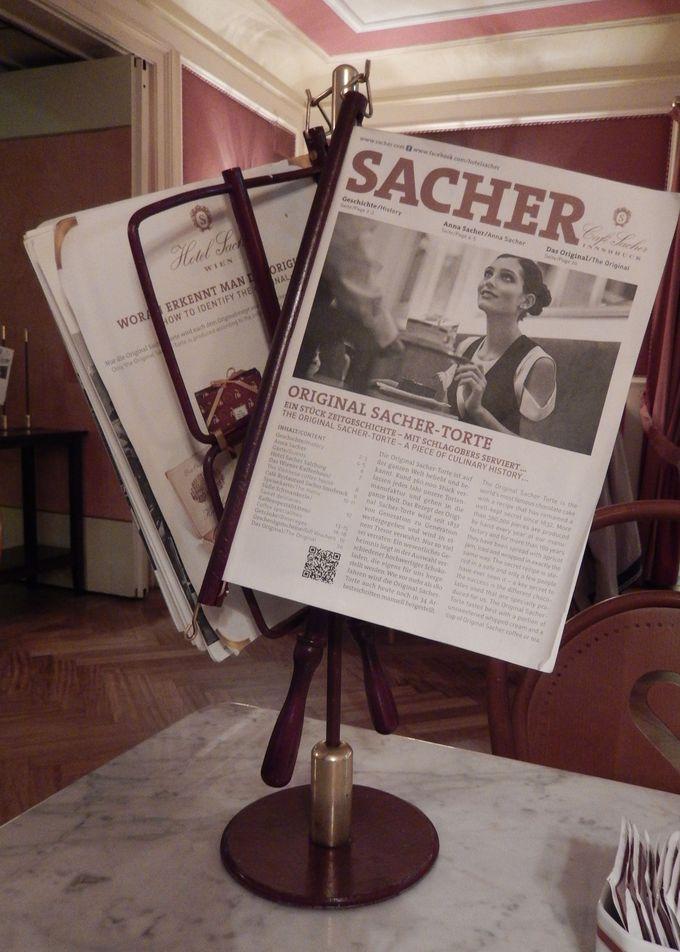 『カフェ・ザッハー』の誇りと格式を語る元祖ザッハートルテの歴史!