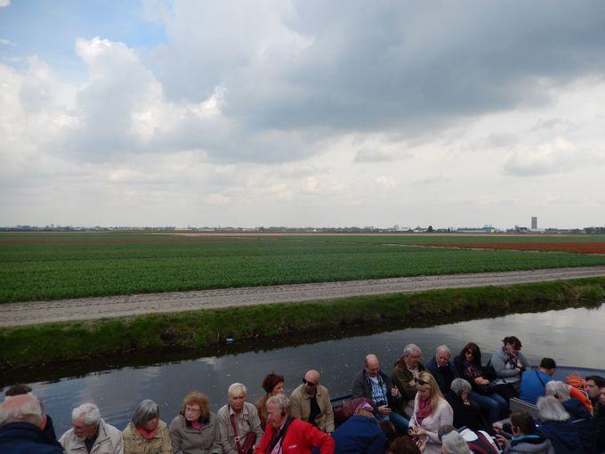 ボートやサイクリングで、オランダの田園風景を満喫!
