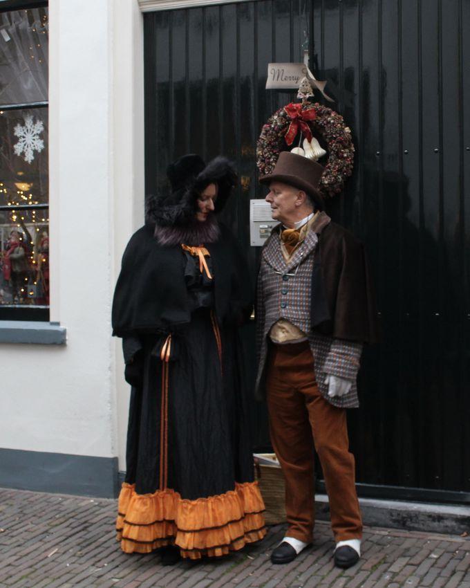 デーフェンターの旧市街はビクトリア時代の情緒満載!