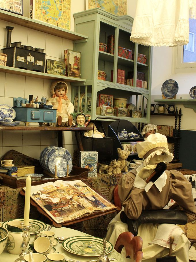 ビクトリア時代の家庭の調度品を再現したミュージアム!
