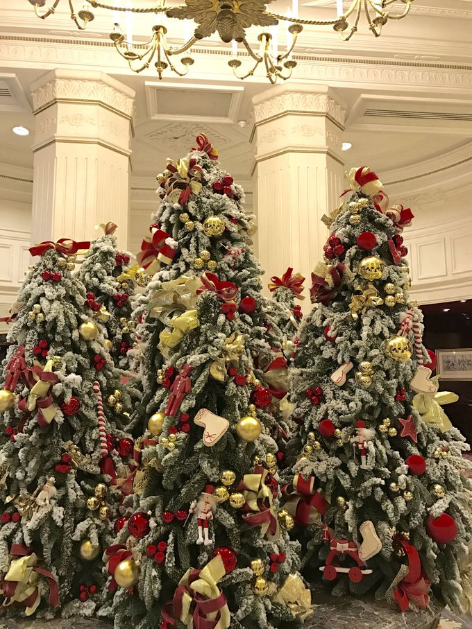 特にお勧めは、優雅なデコレーションに包まれるクリスマスシーズン