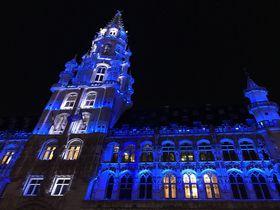 ブリュッセルの素敵なクリスマス!音と光のショーと夢のチョコレート