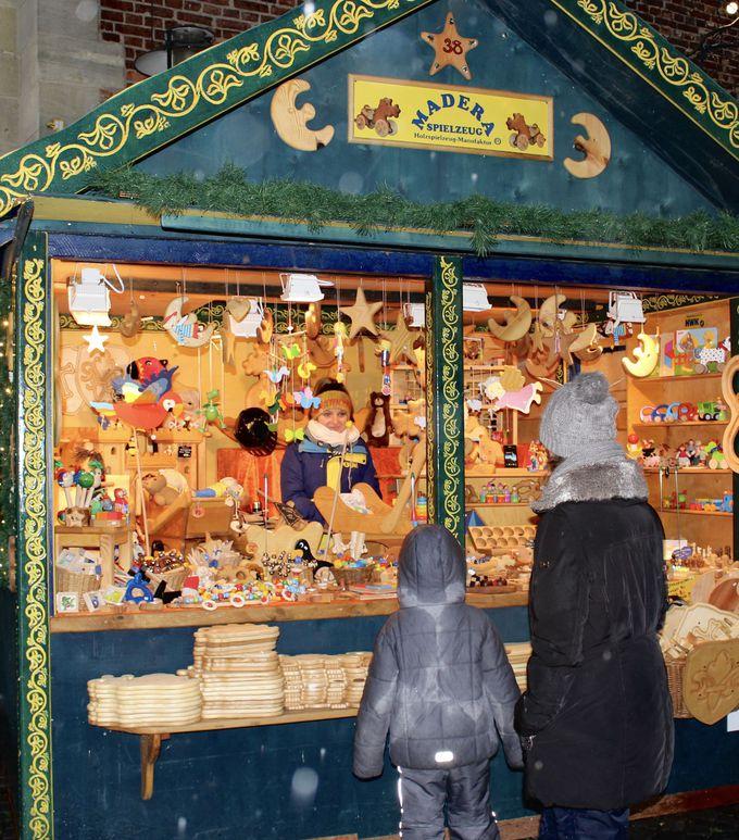 子供時代の夢いっぱいのクリスマスマーケット!