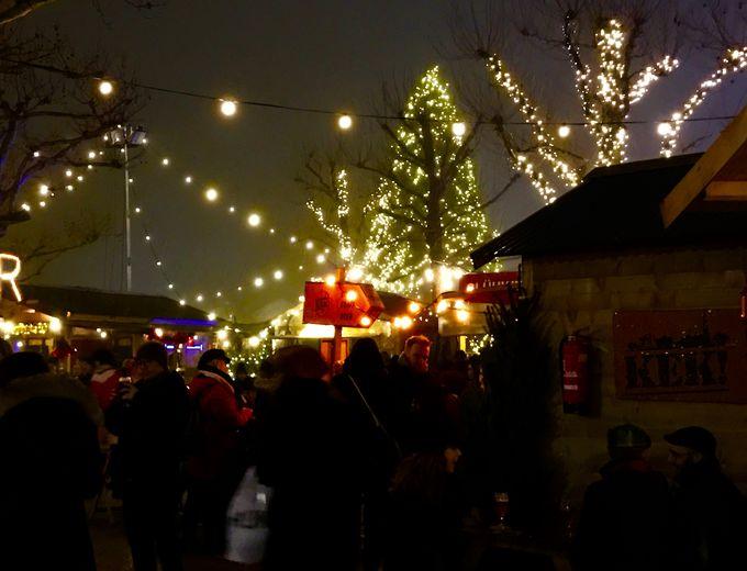 ポップな田舎風クリスマスマーケット「アイスビレッジ」!