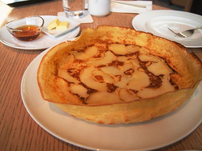 ジャーマンアップルパンケーキ