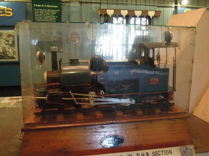 グーム駅の鉄道博物館