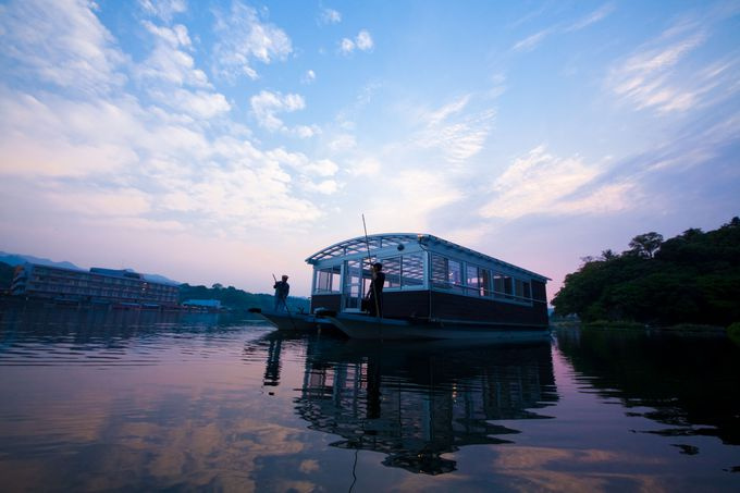 屋形船で楽しむ極上の時間