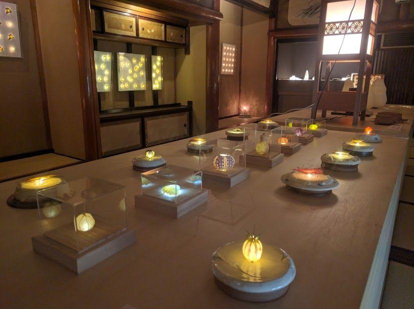 職人の技が光る竜宮城の宝物殿